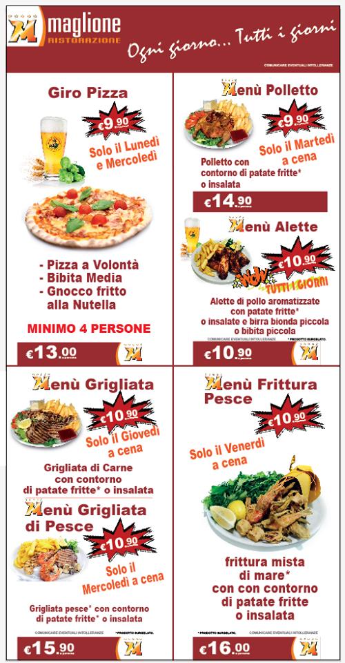 Maglione Moncalieri News E Promozioni Ristorante Self Service